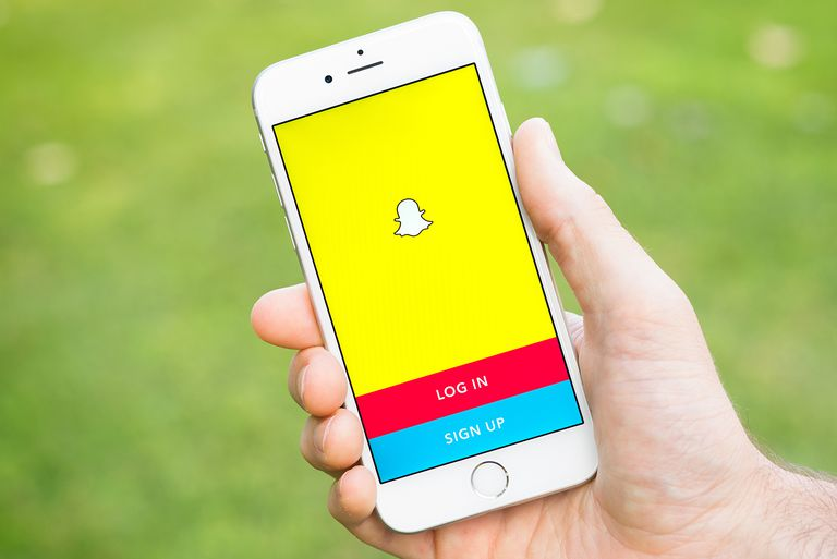 Using snapchat