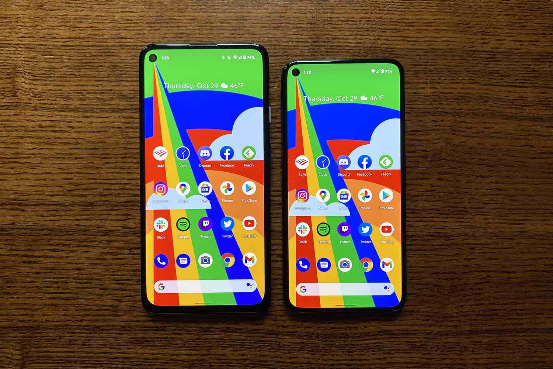 Pixel 5 vs. Pixel 4a 5G