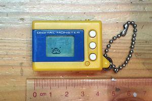 Digital monster was a classic virtual pet