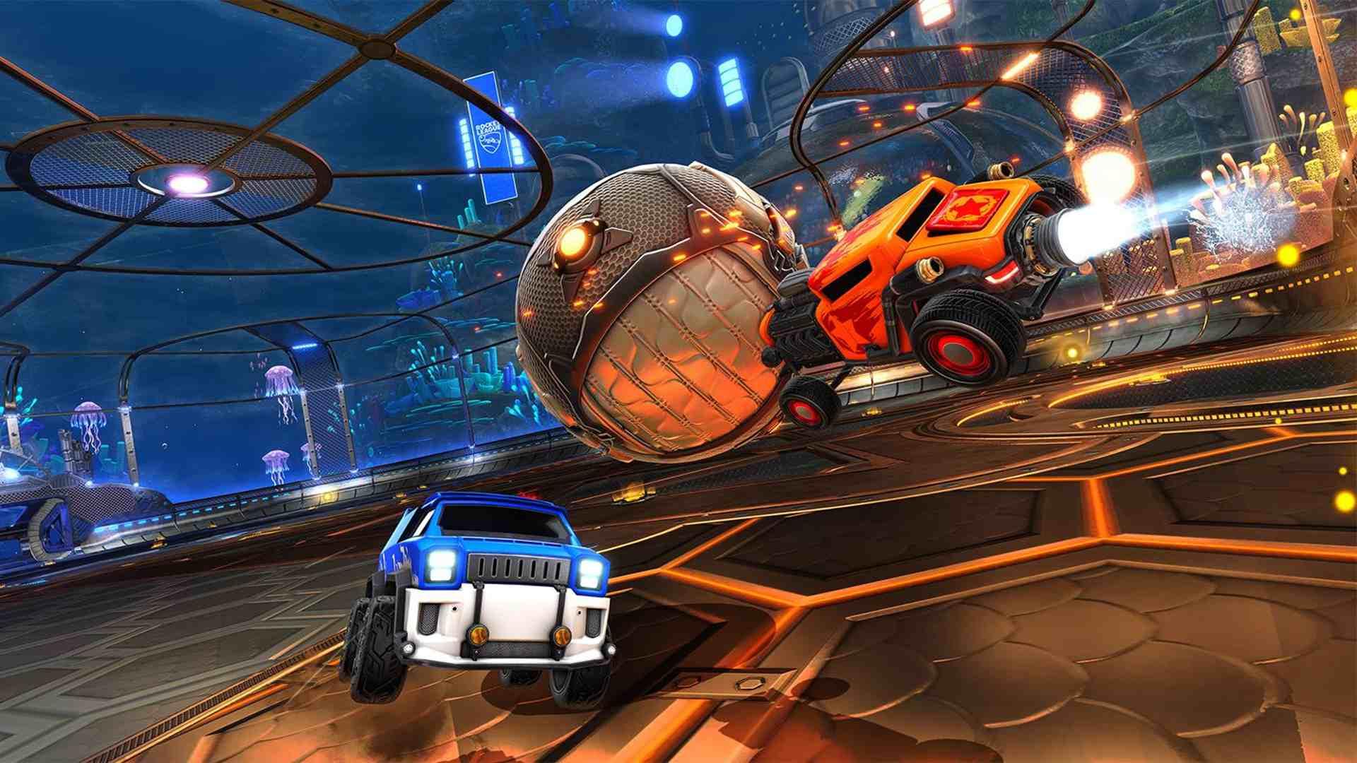 Rocket League online video game for kids.
