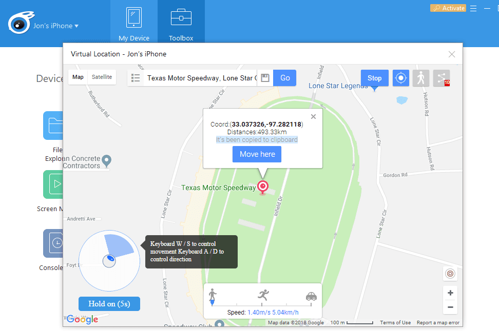 fake gps for dating app