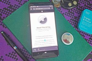 Using an Android phone with an AirTag
