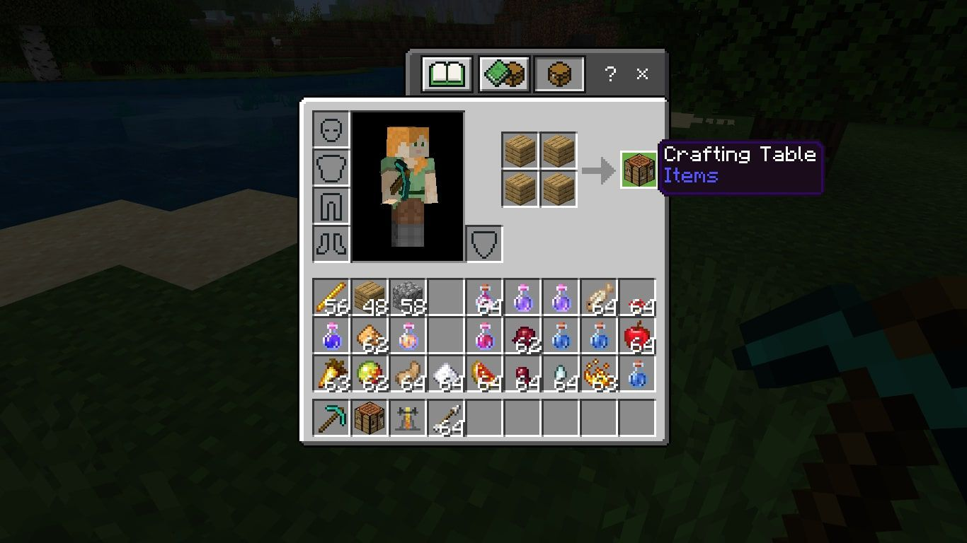 Crafting Table in Minecraft