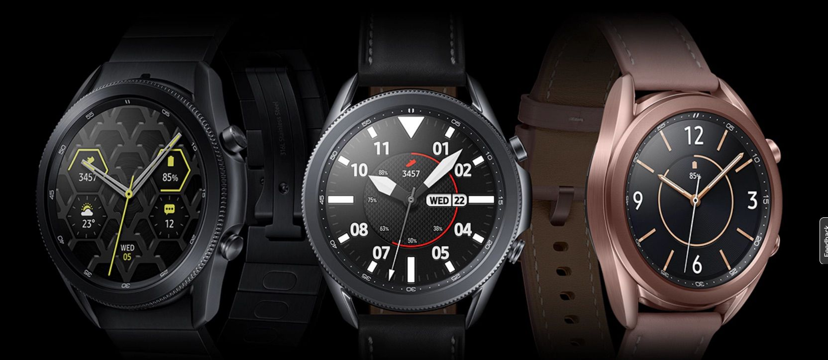 Samsung Galaxy Watch3 smartwatch alternative to Apple Watch