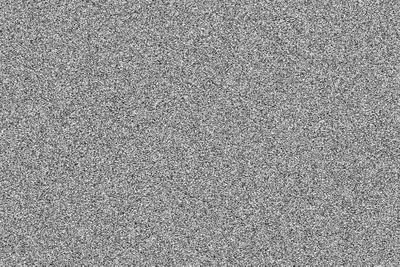 Image of static to portray 'white noise'