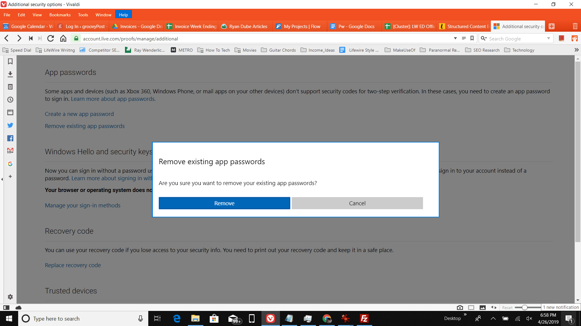 How to Create App Passwords for Outlook com For Easier Sign-in