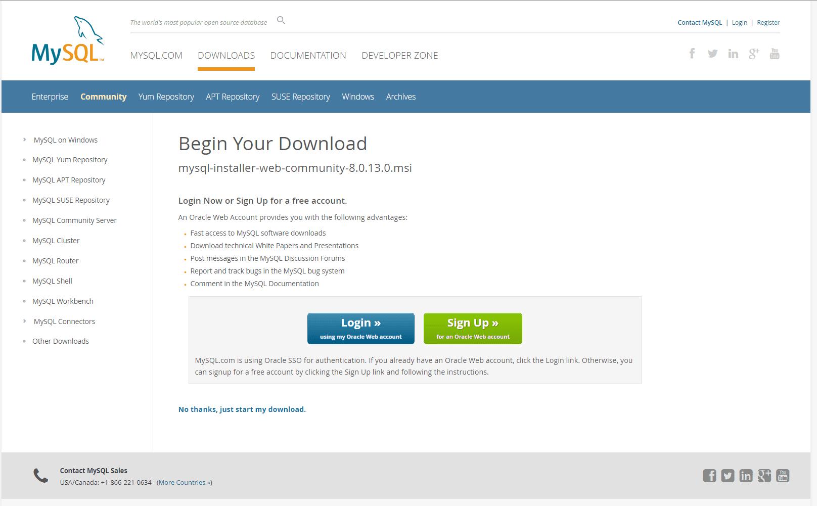 download mysql server for windows 7 32 bit