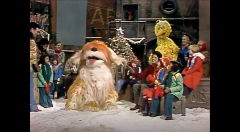 A still image of A Special Sesame Street Christmas.