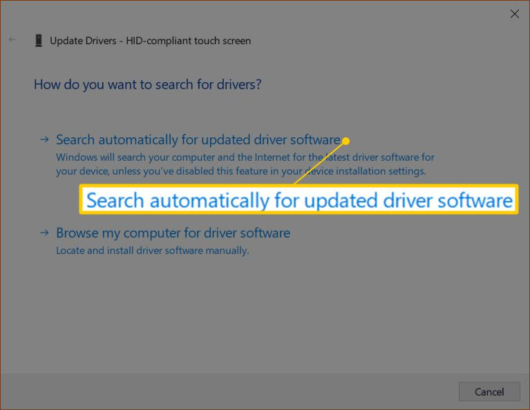 How to Enable The Touchscreen In Windows 10