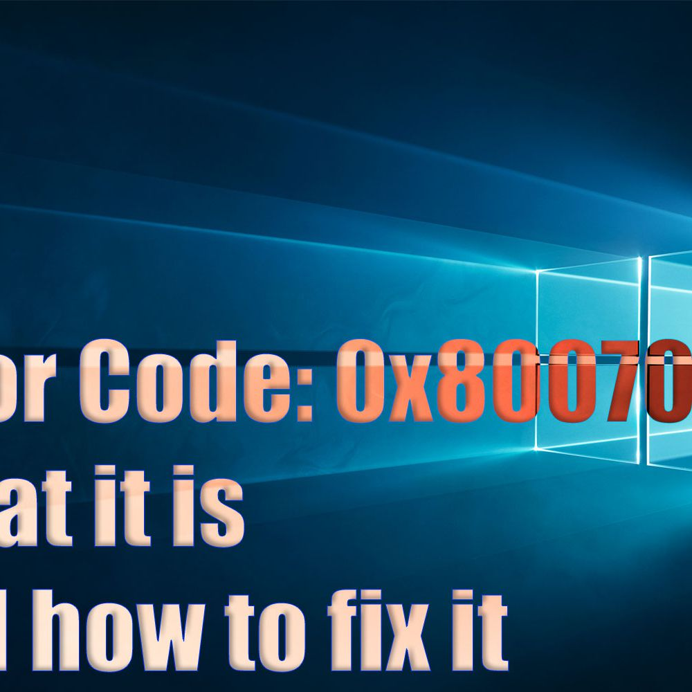 Error Code 0x80070057: What It Is and How to Fix It