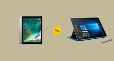 iPad Pro vs Surface Pro