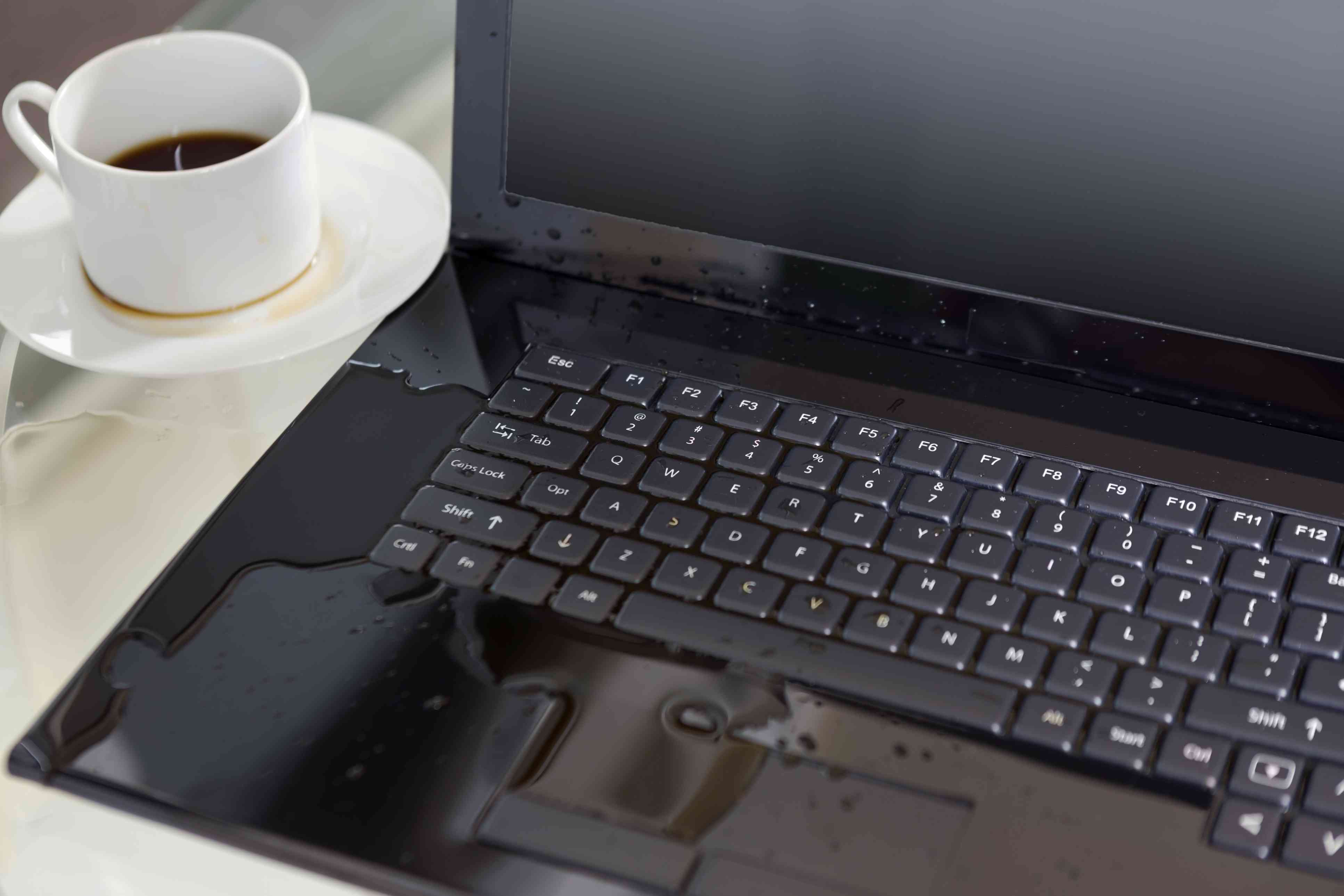 How To Save Your Laptop After A Spill