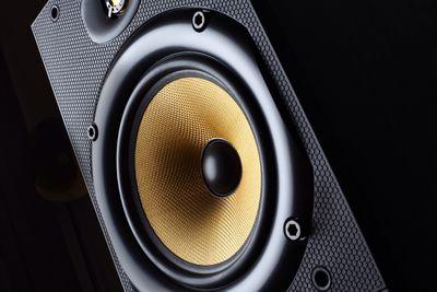 Photo of an audio speaker