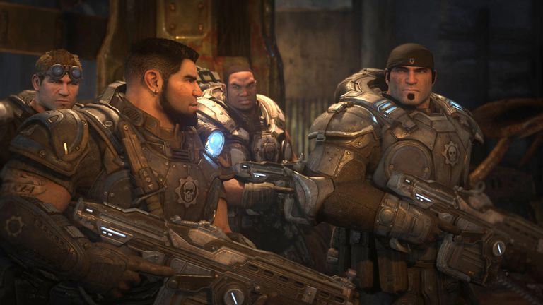 Gears of War main characters