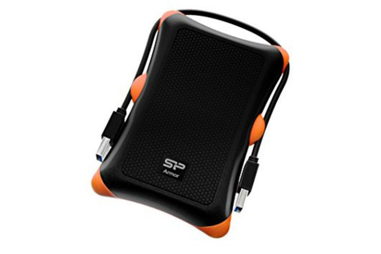 Shockproof hard drive
