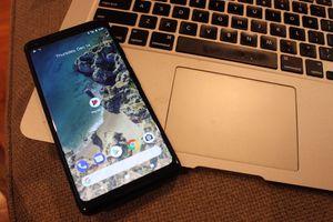Google Pixel 2 and MacBook Air