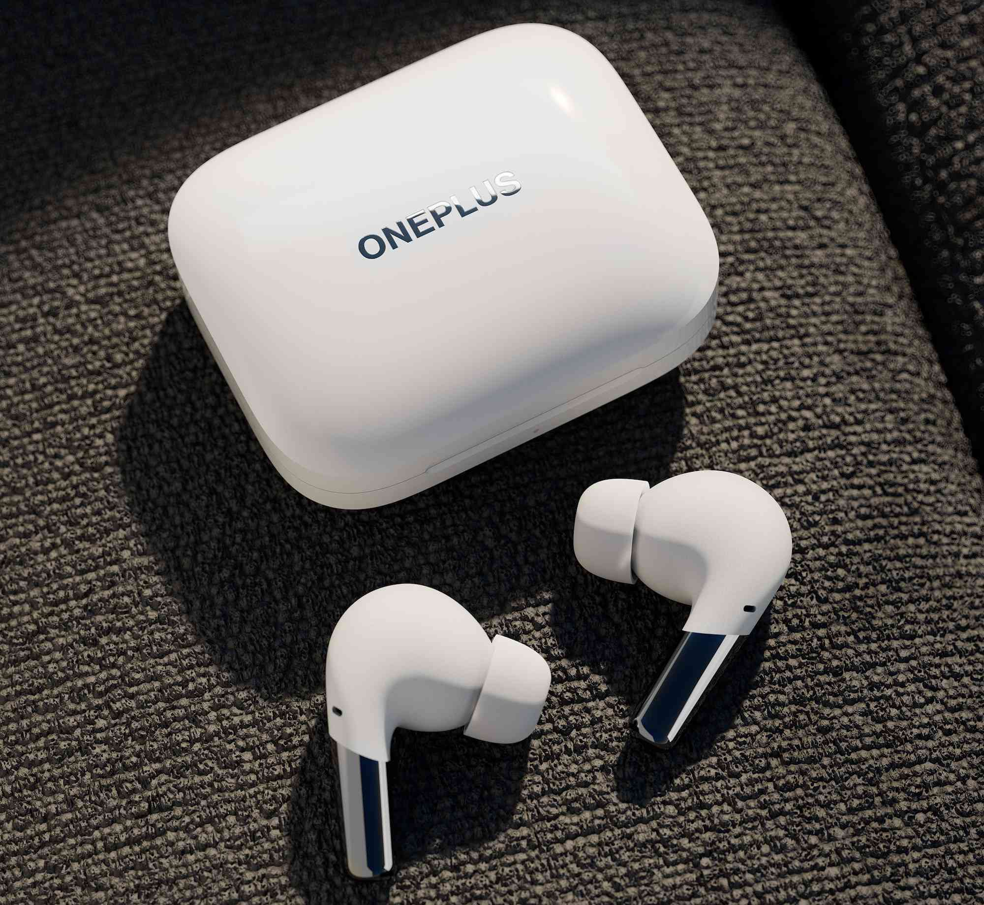 OnePlus Buds Pro in white