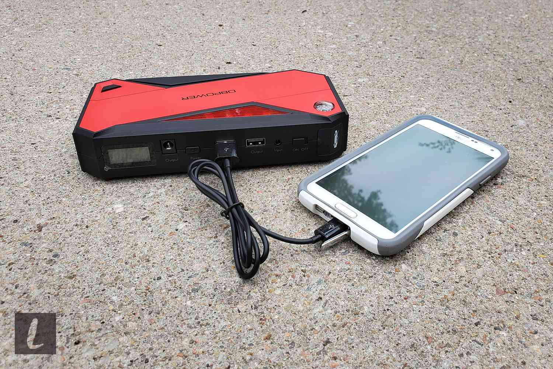 600A Peak 18000mAh Portable Car Jump Starter
