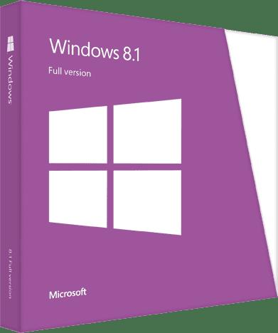 Windows 8.1 Boxshot