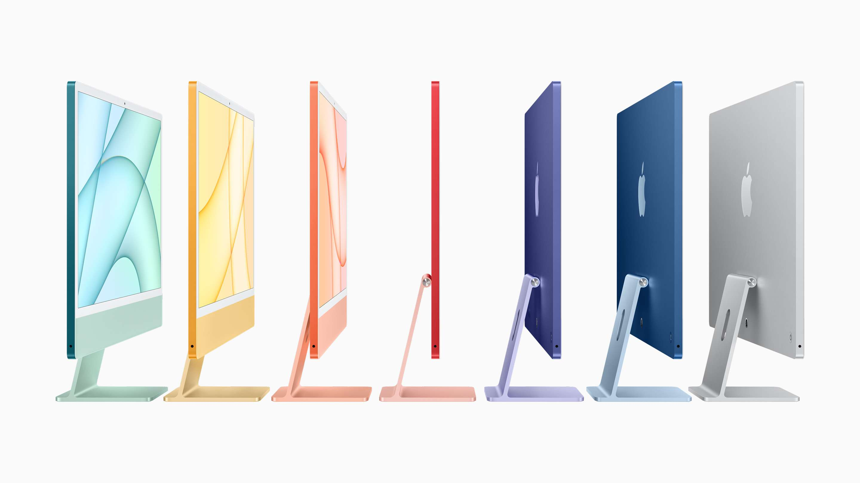 The Spring 2021 M1 iMac Lineup