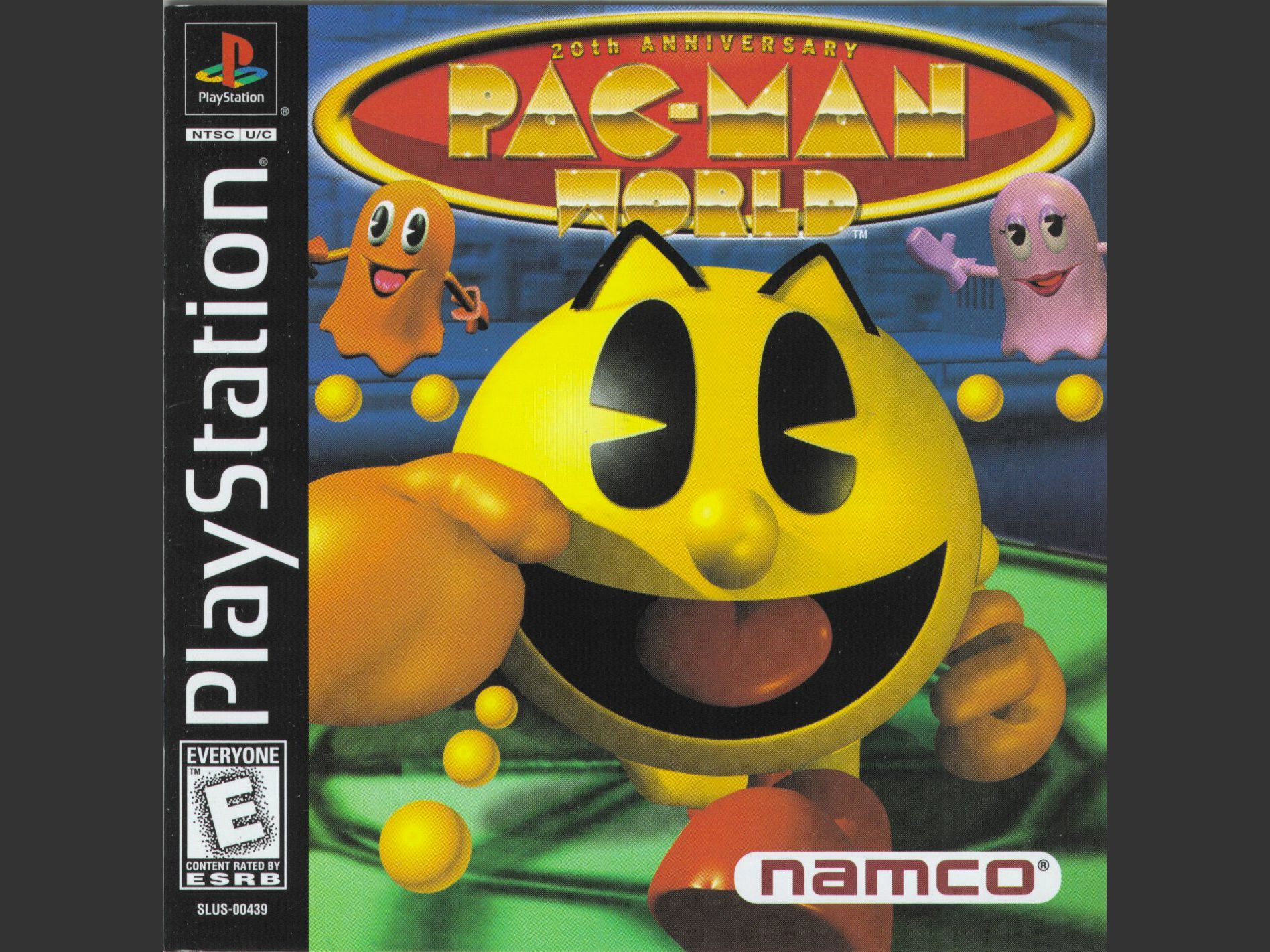Pac Man World Cheats For Playstation Ps1
