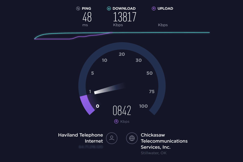 check my internet speed iphone