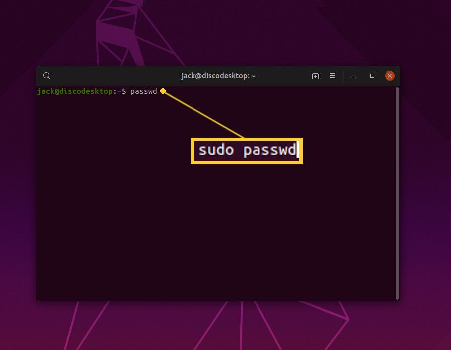 How to Change Your User Password In Linux