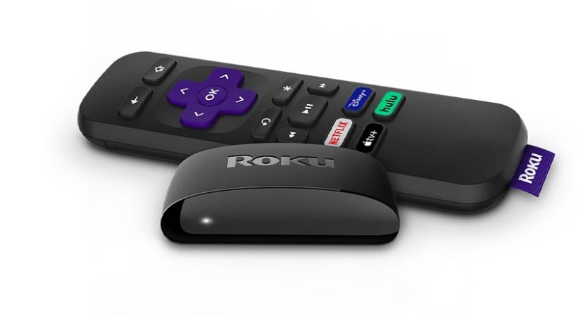 Roku Express remote and connector
