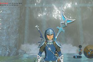 Screenshot of the Zora's Armor in Zelda: BOTW