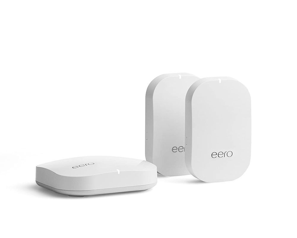 Eero Pro kit with two Eero Beacons