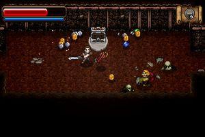 A screenshot from Wayward Souls.
