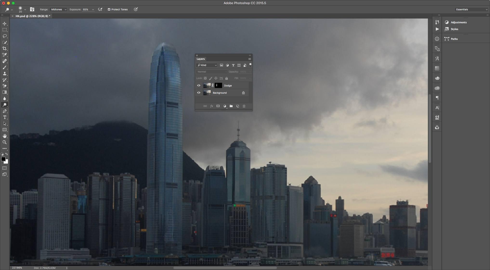 How To Use Photoshop S Dodge Burn And Sponge Tools
