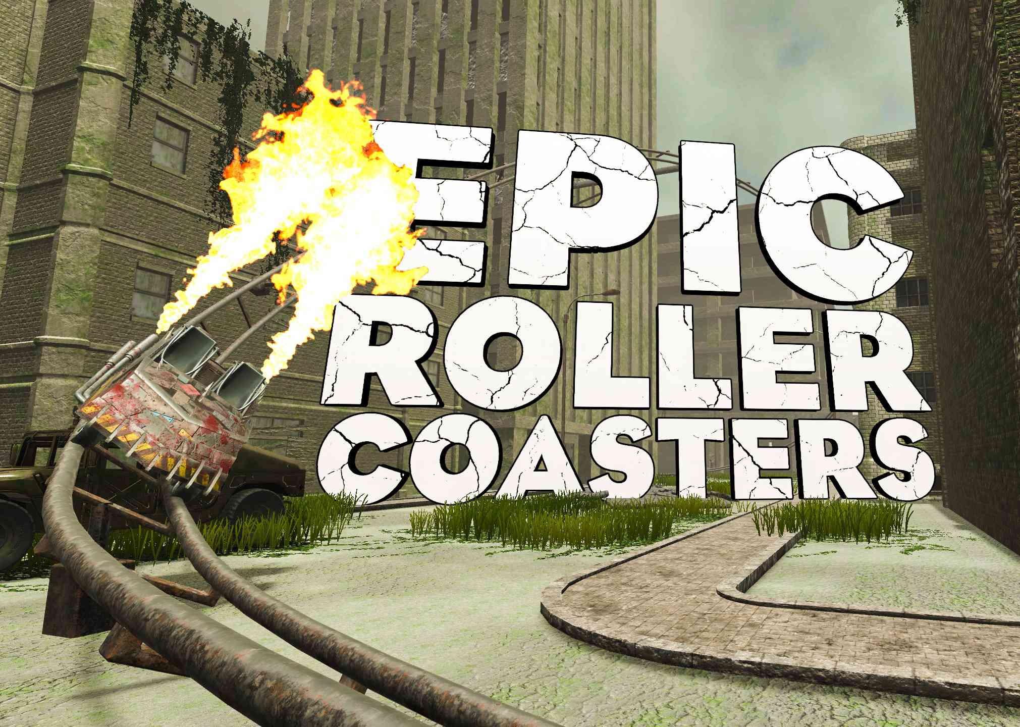 Epic Roller Coasters VR game