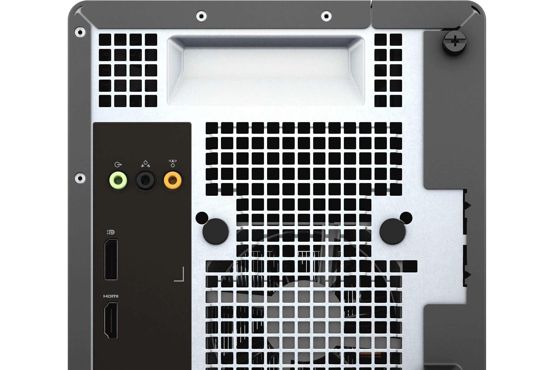 HDMI port on back of Dell XPS desktop computer