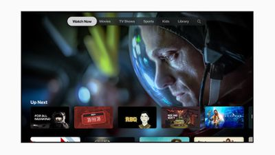 Screenshot of Apple TV+