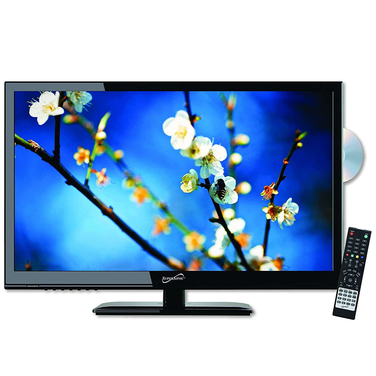 """SuperSonic 24"""" 1080 LED Widescreen HDTV"""