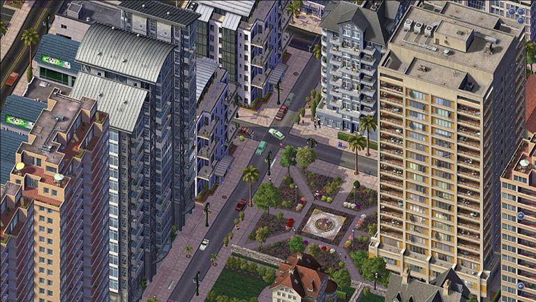 A Screenshot from SIM City 4.