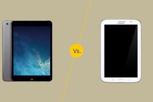 iPad Mini vs Galaxy Note 8