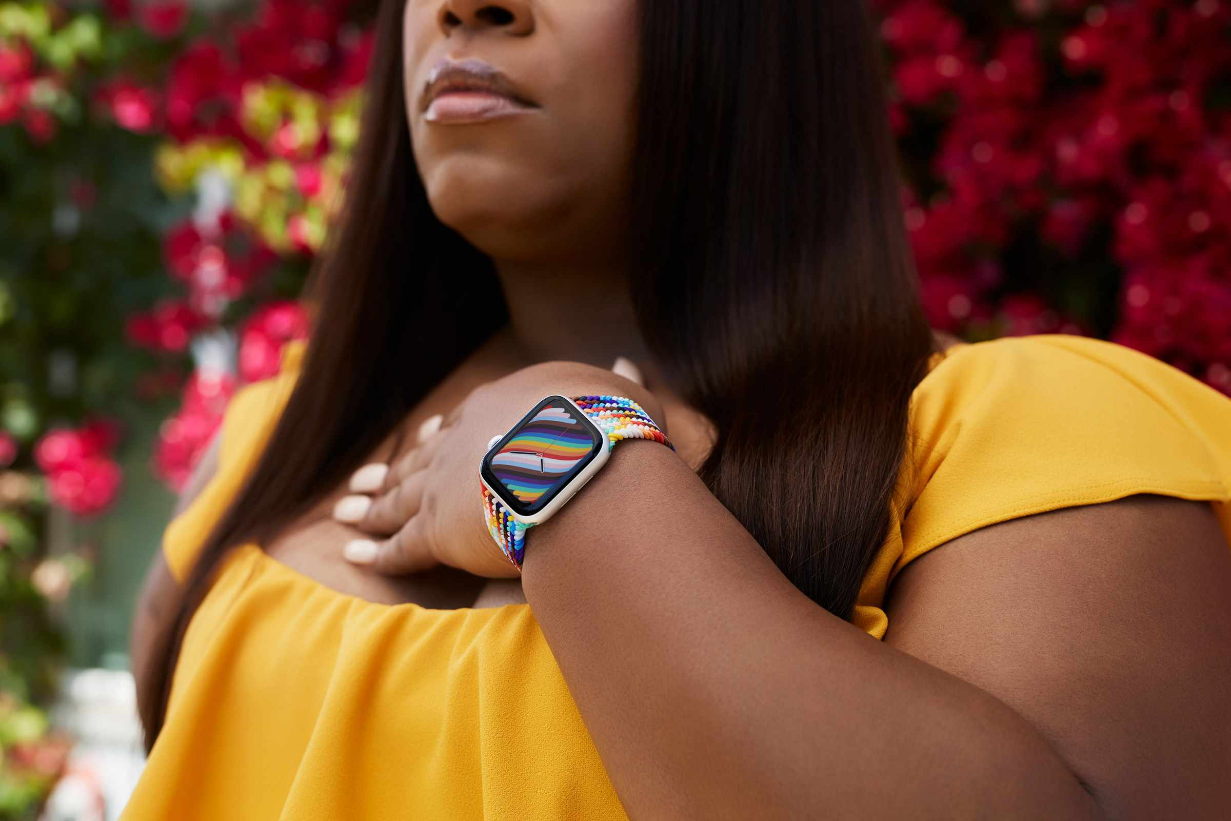 Apple Watch Pride Edition Braided Solo Loop