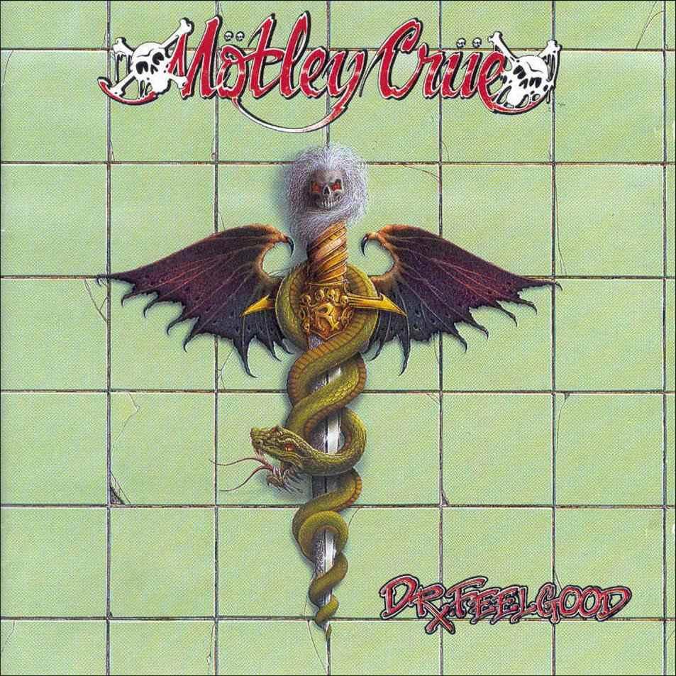 Dr. Feelgood album cover, Motley Crue