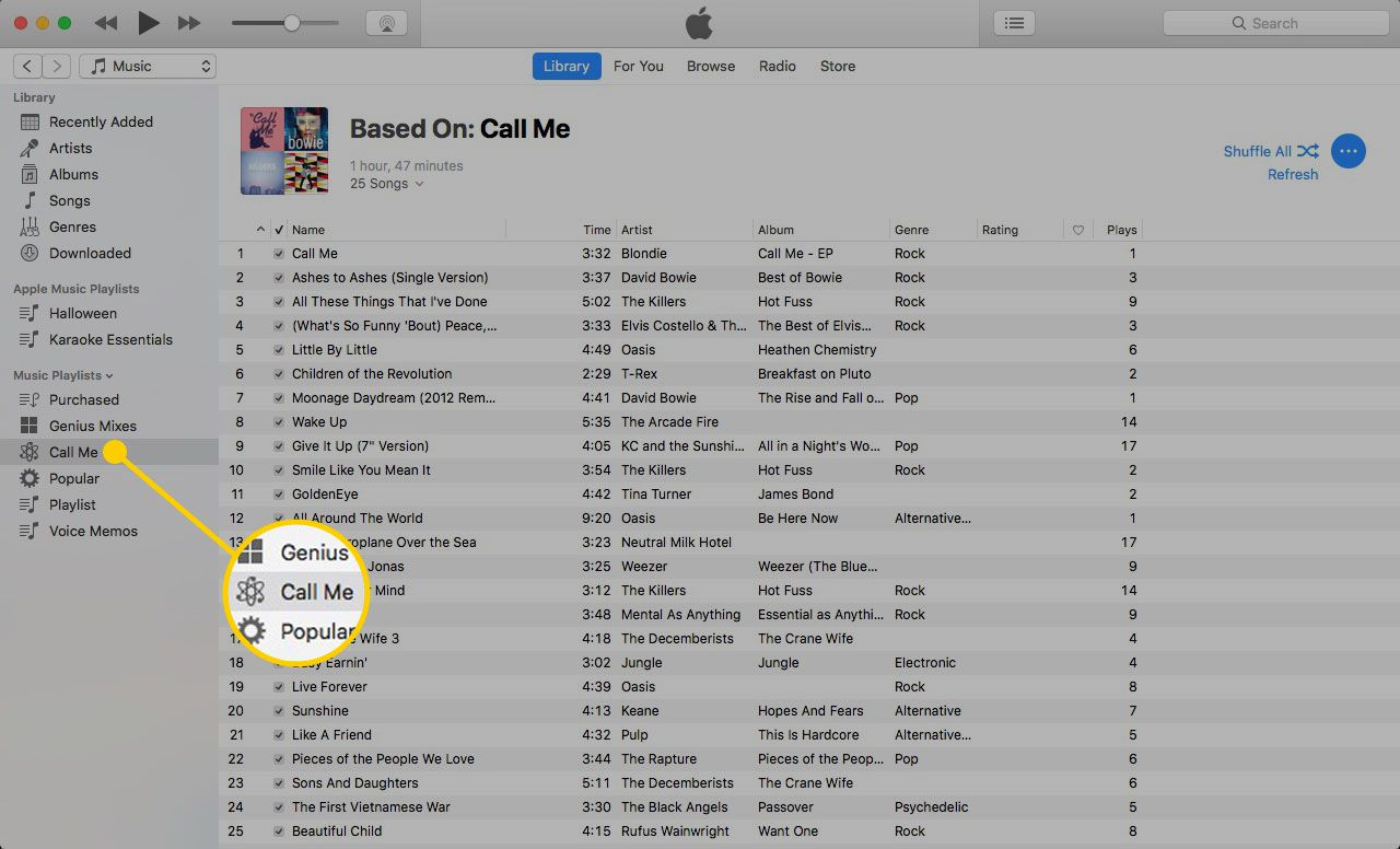 How to Create Great Playlists with iTunes Genius