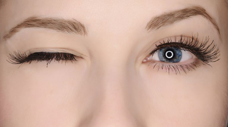 Eye color closeup