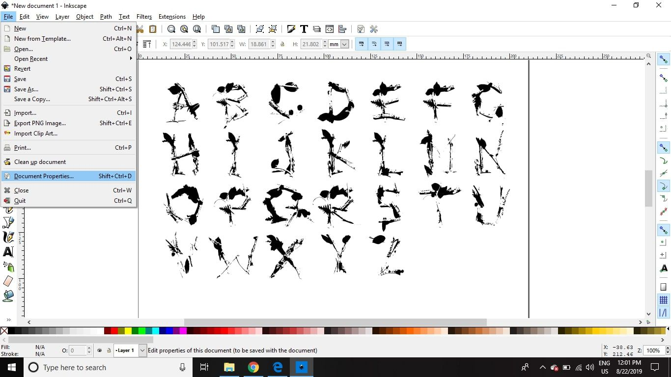 Create Your Own Fonts Using Inkscape and Fontastic me