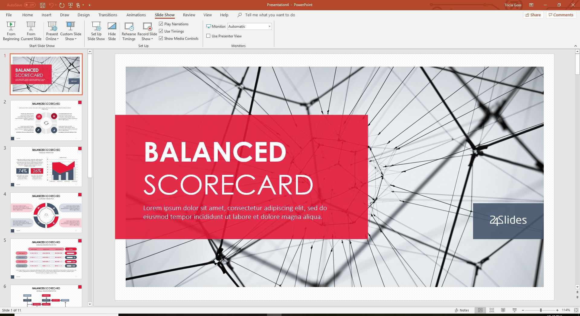 Powerpoint Scorecard Template from www.lifewire.com
