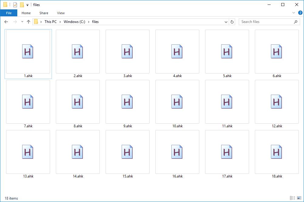 AHK files in Windows 10