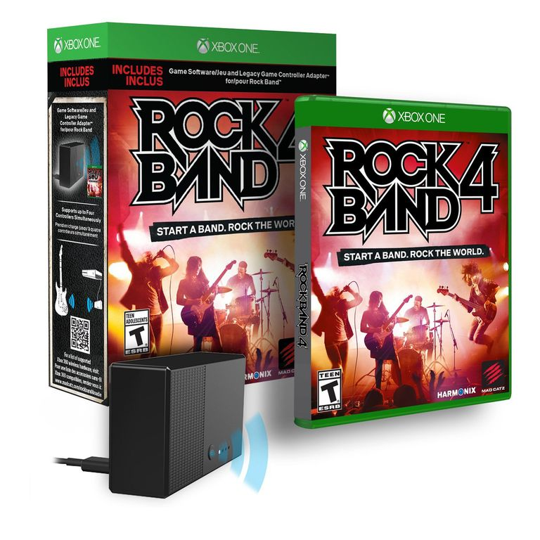 Rock Band 4 box