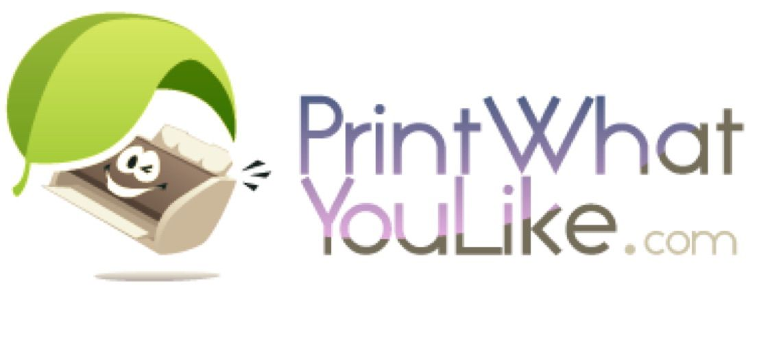 Print What You Like saves printer ink