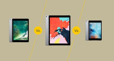 iPad 5th gen vs iPad Pro 2 vs iPad Mini 4