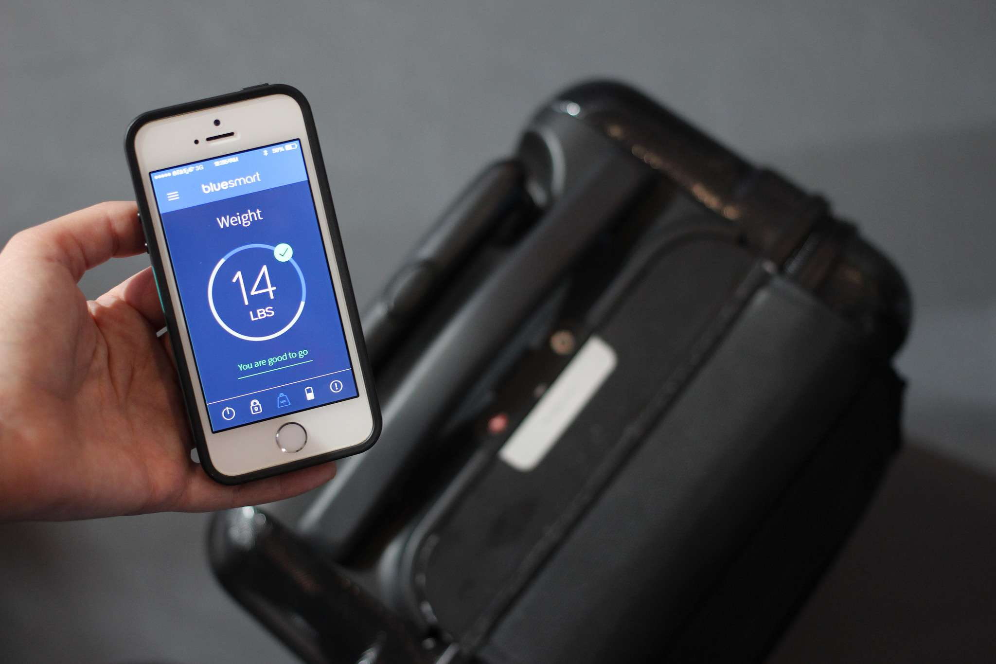 Smart luggage is one way travelers can track their bags between destinations.