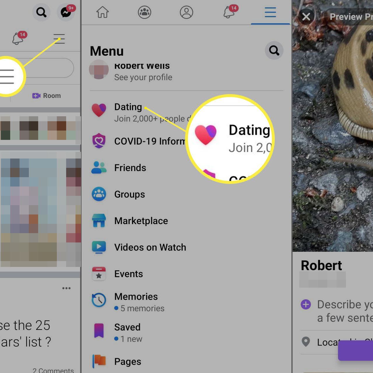Facebook Connect Dating Site